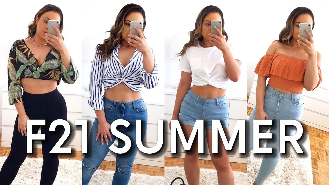e8ef605a27080 FOREVER 21 SUMMER 2018 CLOTHING HAUL! - YouTube