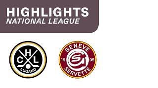 Lugano vs. Genf 5:2 - Highlights National League