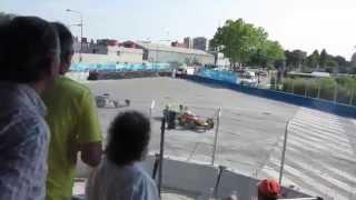 Daniel Abt crash Formula E 2015 Buenos Aires