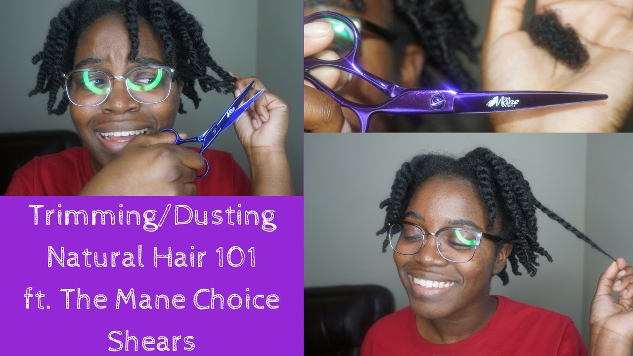 Youtube Dusting Natural Hair