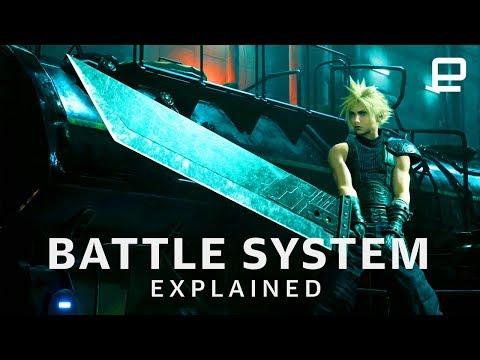 final-fantasy-vii-remake-battle-system-explained-at-e3-2019