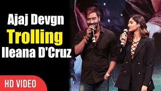 Ajay Devgn Trolling ileana D