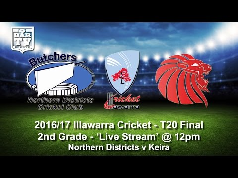 2016/17 Illawarra Cricket T20 Final - 2nd Grade - Northern Districts v Keira