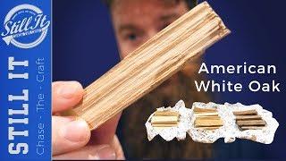 Preparing &amp Toasting Oak To Age Spirits - Whiskey,  Whisky or Moonshine