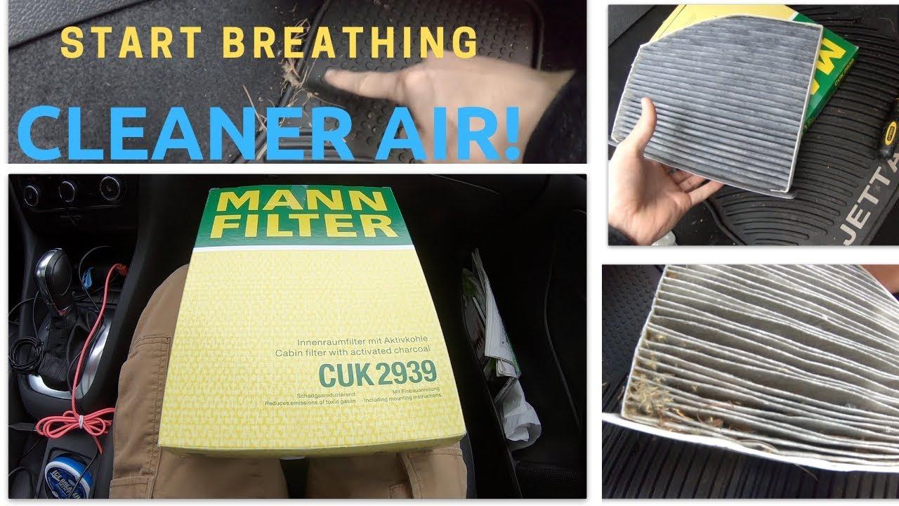 Innenraumfilter MANN FILTER CUK 22 013