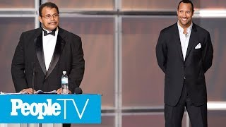 Dwayne Johnson's Father, Professional Wrestler Rocky Johnson, Is Dead At 75   PeopleTV