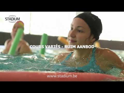 Stadium Brussels Swimming pool and aquagym group classes