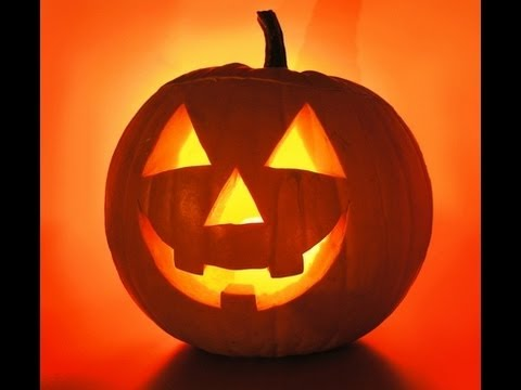 Halloween Pompoen.Halloween Pompoenen