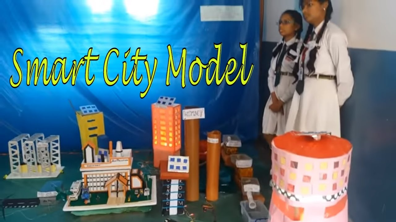 Smart City Initiative Working Model Made Easy By Kids Science