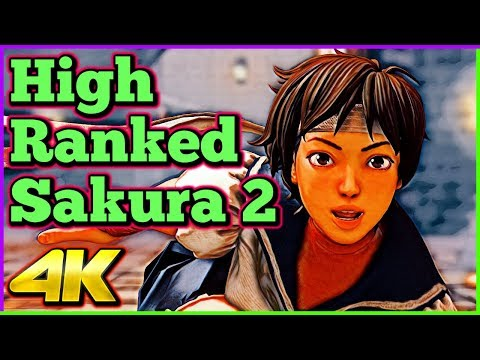 High Ranked Sakura Compilation 2 | Street Fighter 5 AE | 4K Ultra HD - 60fps - PC | Shadaloo Stew