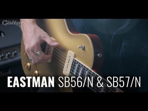 Eastman SB56/N & SB57/N electric guitar demo