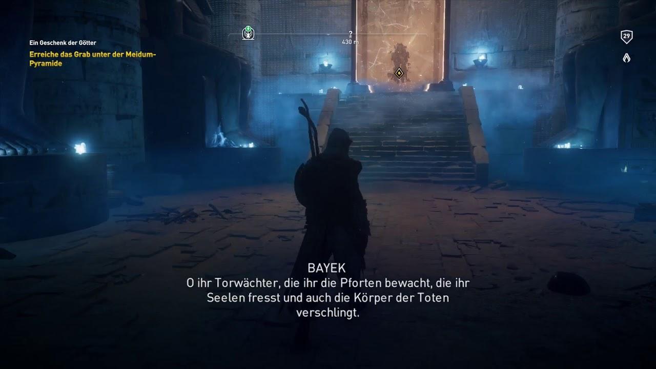 assassins creed origins sonnenuhr rätsel