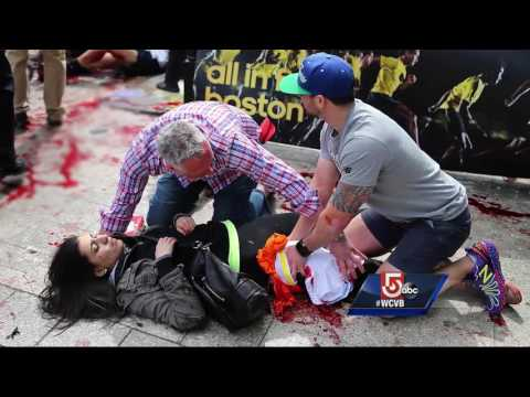 Globe photographer's photos showcase horror, Boston's strength after bombing