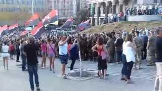 Правый сектор идет на Майдан