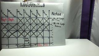 DIY - Hacé tu Propio Calendario!!! Thumbnail