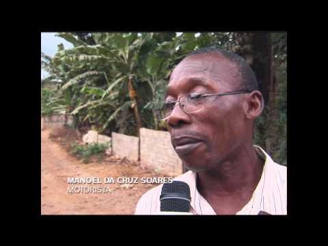 MATÉRIA DANI MOURA FEITA EM SÃO TOME E PRINCIPE - AFRICA - JORNAL FUTURA