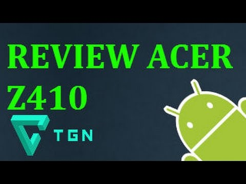 REVIEW ACER Z410//ANDROID APPS