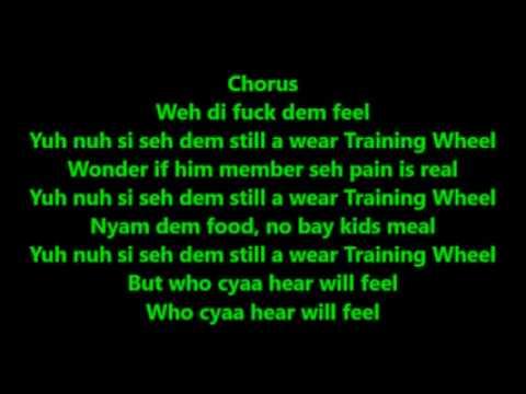 Vybz Kartel    Training Wheel   Official Video Lyrics# Dj Archers
