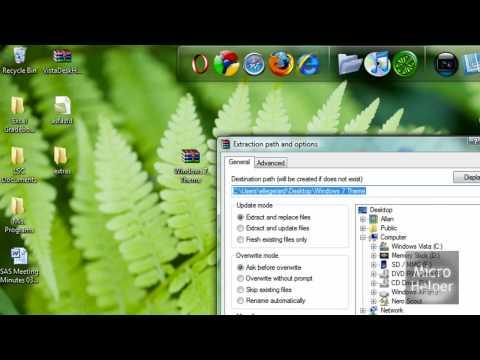 How To Install Custom Themes On Windows Vista