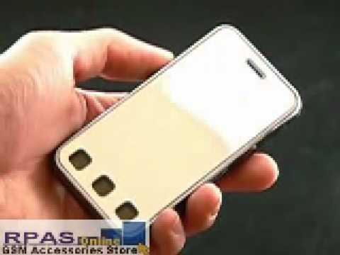 Mirror LCD Screen Protector for LG KC910 Renoir