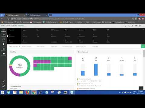 Exporting flows, traffic grouping, app mapping and alerting - Free NetFlow Analyzer Training 2018