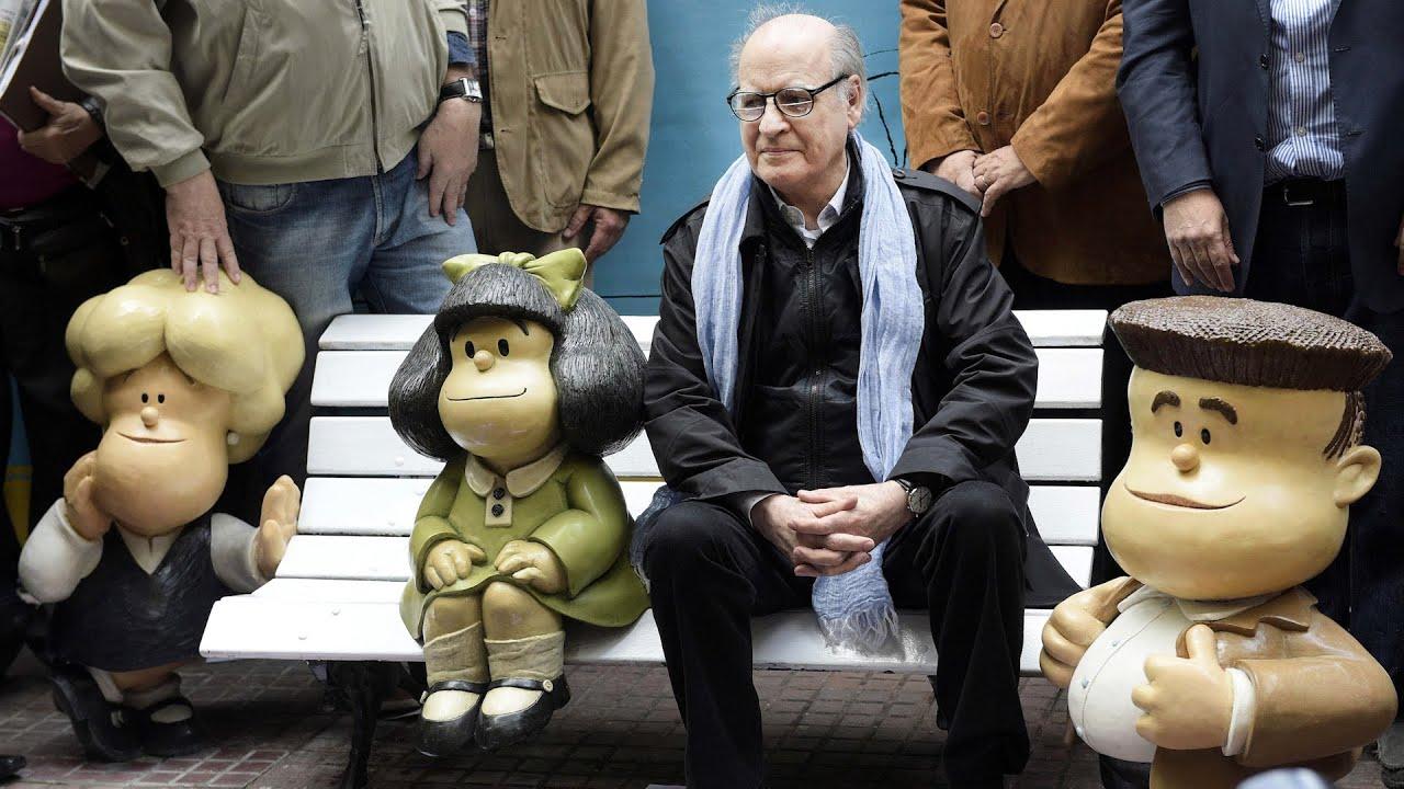 Adiós a Quino, el hombre que cuestionó los mandatos y los totalitarismos con su entrañable Mafalda