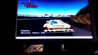 Gran Turismo 2 - Lister Storm V12 Race Car - Engine Sound Change