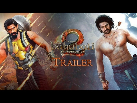 Bahubali 2 - The Conclusion   Official Trailer   In Hindi   S.S. Rajamouli   Prabhas  Rana Daggubati