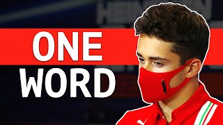 The Criticism That Bothers Charles Leclerc The Most