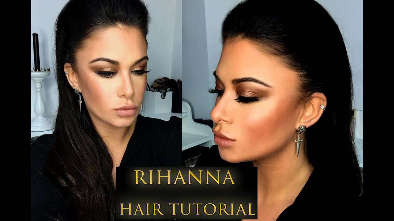 Rihanna Slicked Back Hair Tutorial Bellami Kylie Hair