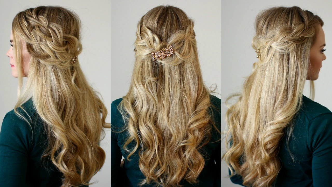 half up double braids missy sue youtube
