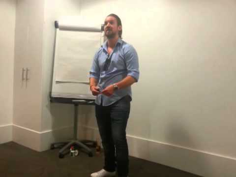 John Holowaty sharing the JuicePlus business