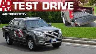 TEST DRIVE PICK-UP GREAT WALL STEED 6: