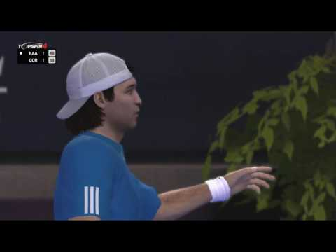Top Spin 4 Online Tommy Haas vs Guillermo Coria