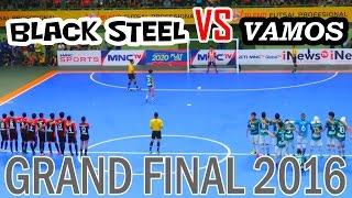 Final Futsal Indonesia - Vamos Mataram VS Black Steel (Blend Futsal Profesional 2016)