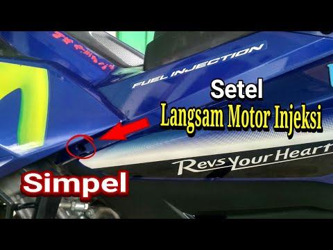 Cara Setel Langsam/Stasioner Motor Injeksi Simpel || Jupiter Mx King