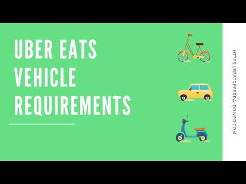 Uber Eats Car Requirements And Vehicle Review