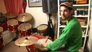 Drum Stick Patterns for Bossa Nova: 3-2 Clave