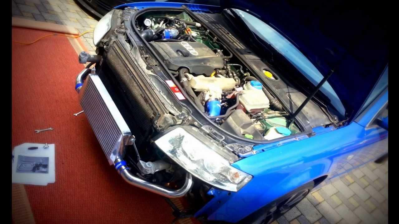 Audi A4 B6 1 8t Tuning Ladeluftkulher Autobahn88 Llk