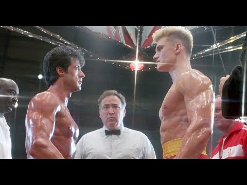Рокки Бальбоа Vs Иван Драго   Рокки 4 1985