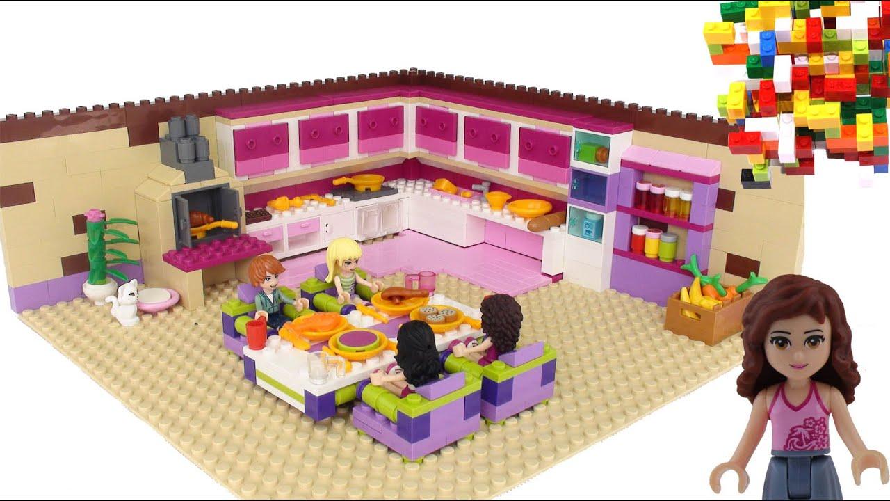 Lego Full House Lego Friends Kitchen Room By Misty Brick Youtube