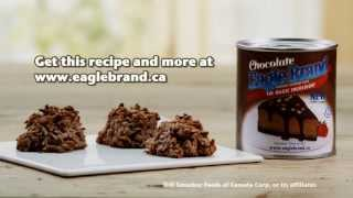 Eagle Brand® - Super Easy Chocolaty Coconut Macaroons