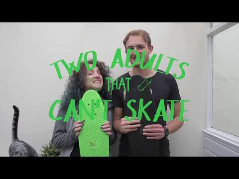 ADULTS Falling Off Their Skateboards! | Two Adults That Can't Skate No. 1 |