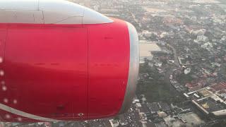 Роял Флайт (Royal Flight)  В-757-200 посадка в аэропорту Суварнабхуми Бангкок