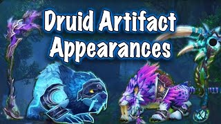 Legion Beta - Artifact Weapon Appearances: Druid (Jessiehealz)