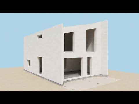 bauroc ECOTERM+ einschichtige Außenwand aus Porenbeton-Blöcken