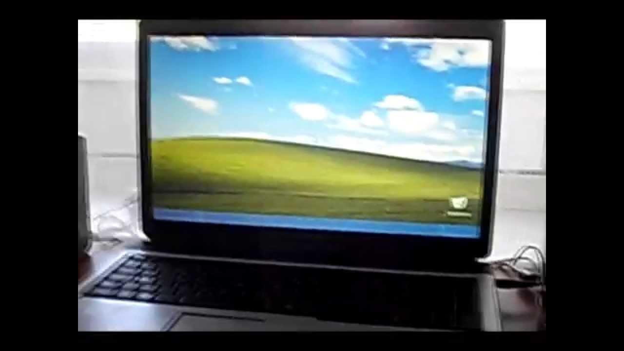Установка Windows xp c флешки