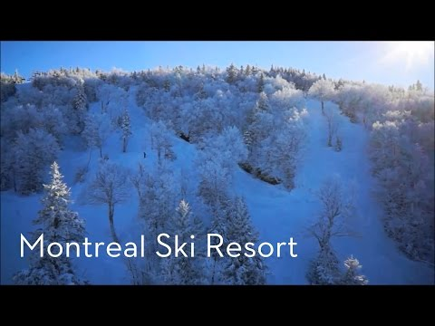 【Montreal Ski Resort】