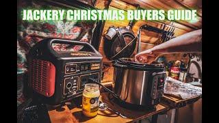 Jackery Explorer 300 aฑd Explorer 1000 Christmas Buyers Guide