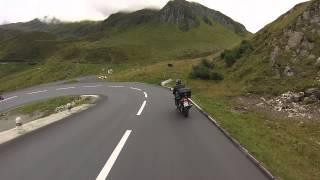Обзор Европы на мотоцикле (2/6: Швейцария, Австрия)(Второй день нашего шестидневного путешествия на мотоциклах начинается 27 августа 2014 в Швейцарии возле горо..., 2014-12-19T20:51:30.000Z)